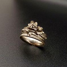 GALERIE | Parfém pro malého anděla..prsten | Stříbrné šperky - originální, ruční výroba - náušnice, medailonky, prsteny, amulety, řetízky.