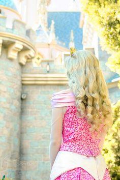 Aurora at her castle