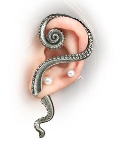 ThinkGeek :: Tentacle Ear Wrap