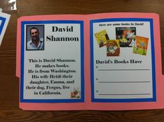 Mrs. Tabb @ First Grade Awesomeness: AUTHOR STUDY BIO FOLDERS!! Mo Willems Giveaway!