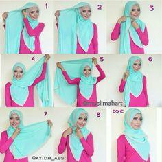 Gorgeous Easy Hijab Tutorial