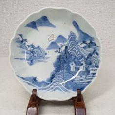 Antique Japanese Plates | Antique Japanese Imari Plate Edo Period C1825 - AxSoris.com & Vintage Hand Painted Orange u0026 Blue Japanese Plates | Japanese ...