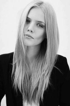 black and white fashion girl
