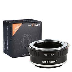 K&F Concept® PK - NEX Objektiv Mount Adapter Ring Objektiv Adapterringe für Pentax K PK Objektiv Mount Objektiv Adapterringe auf Sony Alpha a7, a7r, NEX - http://kameras-kaufen.de/k-f-concept/pk-nex-k-f-concept-m42-m4-3-objektiv-mount-adapter-4-3
