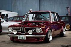 BMW 2002 burgundy