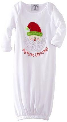 @Erika Anne Mud Pie Unisex-Baby Newborn My First Christmas Sleeper Gown, Multi Colored, 0-6 Months Mud Pie, http://www.amazon.com/dp/B008FMSBWY/ref=cm_sw_r_pi_dp_FsIUqb08MV55D