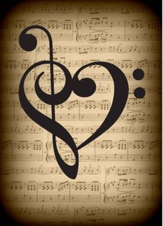 Musical Heart <3 best friend tattoo idea?? Maybe..... Maybe.....