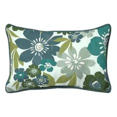 Hampton Bay Garden Grove Outdoor Lumbar Throw Pillow JE06121C 9D4   The Home  Depot