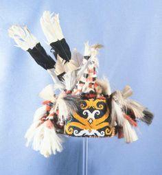RP - Ceremonial Headdress of the Kayan Kenya Sarawak (Malaysia - Borneo) Indonesian Art, East Indies, Native Art, Borneo, Occult, Headdress, Southeast Asia, Handicraft, Stephen Jones