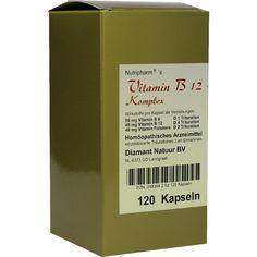 VITAMIN B12+B6+Folsäure Komplex Kapseln:   Packungsinhalt: 120 St Kapseln PZN: 02483942 Hersteller: B&K Nutripharm GmbH Preis: 24,06 EUR…