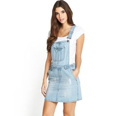 Vero Moda Orson Overall Dress Overall Dress, Overall Shorts, Denim Fashion, Outfit Of The Day, Overalls, Denim Style, Sewing Projects, Outfits, Shopping