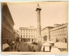 Italia, Roma. Piazza Colonna  Circa 1880