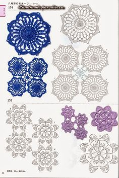 For instructions, click here: http://ergahandmade.blogspot.gr/2015/06/crochet-stitches.htm Via: http://h...