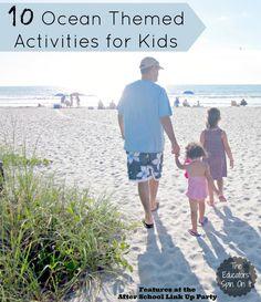 10 Ocean Activities for Summer Fun with Kids