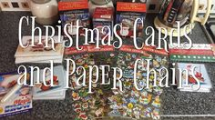 VLOGMAS DAY 9 | CHRISTMAS CARDS AND PAPERCHAINS