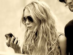 my hair wants to look like this... it just visits crazy town on the way.