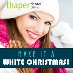 Get a pearly white smile this Christmas! Call us to know more about smile designing and tooth polishing 😊 Phone no: 7073478477 Branches: B 45 Sehkar Marg and Johari Bazar