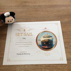 A keepsake that will last a lifetime Disney Reveal, Set Sail, Disney Cruise Line, Daddy, Disney Cruise, Fathers