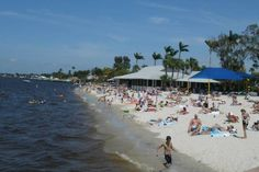 Cape Coral Florida - Yacht Club Beach one of the beaches we will visiting :)