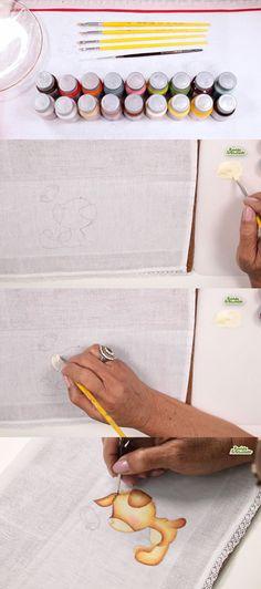 5 Etapas da Pintura em Tecido Infantil [Dicas e Truques]