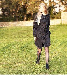 Long waterproof parka - Dressign.com Punk, Collection, Design, Women, Style, Fashion, Moda, Women's