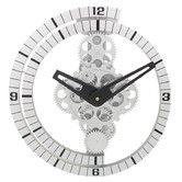 """Found it at Wayfair - 12"""" Moving Gear Wall Clock"""