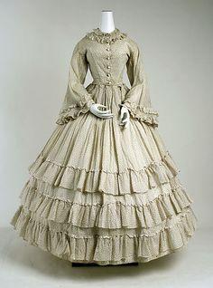 Dress. ca 1865
