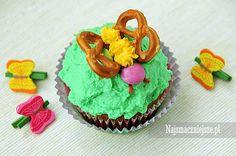 Babeczki waniliowe Motylki, najsmaczniejsze.pl #muffiny #food #kuchnia #deser #babeczki #Dessert