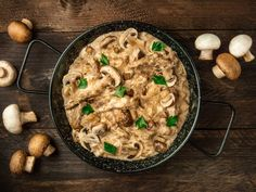 This mushroom tofu stroganoff is the perfect meal for your meat-free Mondays. It has similar flavours to the classic beef stroganoff. Recipe For Beef Stroganoff, Mushroom Stroganoff, Mushroom Gravy, Slow Cooker Beef, Slow Cooker Recipes, Beef Recipes, Stuffed Mushrooms, Stuffed Peppers, Vegetarian Dinners
