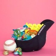 easter baskets - Google Search for Boys - hat and ball