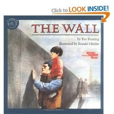 The Wall (Reading Rainbow Books)   My favorite book for Veterans' Day  Beautiful portrayal of the sacrifice of veterans
