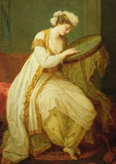 A Turkish Woman, by Angelica Kauffmann, 1773, The Pushkin State Museum of Fine Arts, Moscow.