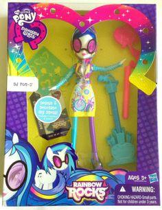 My Little Pony Equestria Girls Rainbow Rocks DJ PON-3 Vinyl Scratch Fashion Doll #Hasbro