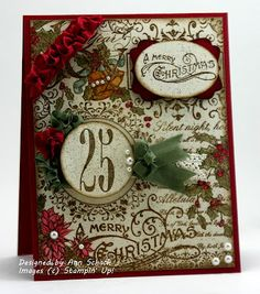 Gorgoues Stampin' Up! card by Ann Schach
