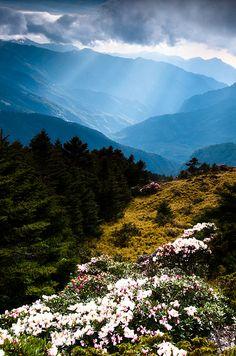 Hehuan Mountain in Taiwan
