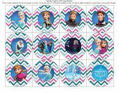 Frost Your Party: Free Disney Frozen Printable Party Decorations Frozen Birthday Party, Elsa Birthday, Disney Frozen Party, 6th Birthday Parties, Birthday Fun, Birthday Ideas, Frozen Movie, Party Printables, Oh My Fiesta