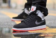 Air Jordan 1 High Retro '89 Black Cement