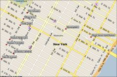 midtown east new york city attractions map find the nyc attraction you seek in manhattan ny