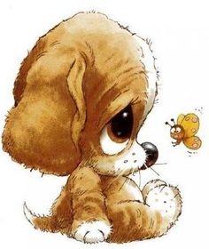 собаки щенки рисунки - Поиск в Google