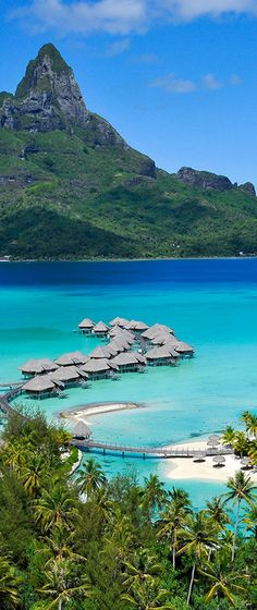 Bora Bora, French Polynesia I would like to visit this place some day after I'm married. I would like to visit Bora Bora because is looks so relaxing. This is my dream vacation. Vacation Places, Dream Vacations, Vacation Spots, Places To Travel, Travel Destinations, Honeymoon Places, Honeymoon Packages, Wonderful Places, Beautiful Places