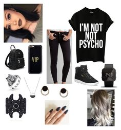 Untitled #94 by incredibly on Polyvore featuring polyvore fashion style American Eagle Outfitters Puma 1:Face White House Black Market Bling Jewelry Casetify clothing