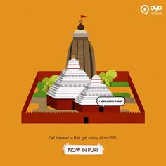 Get blessings of #Jagannath in #Puri and stay at #BudgetHotelsinPuri with #OYORooms.