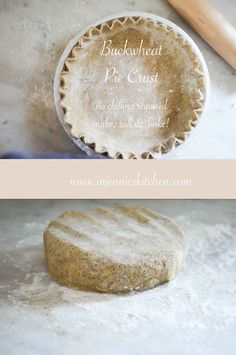 A whole grain version of the best pie crust recipe, ever. No chilling required, just make, roll & bake. Recipe at In Jennie's Kitchen.