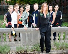 Designer Stella McCartney and models. See all the best party pics (along with what celebs attended) from McCartney's Havanna-themed 2016 resort presentation/garden party in New York City.