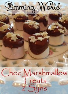 Slimming World Chocolate Marshmallow treats astuce recette minceur girl world world recipes world snacks Slimming World Taster Ideas, Slimming World Deserts, Slimming World Puddings, Slimming World Diet, Slimming World Recipes, Slimming Workd, Slimming Eats, Christmas Buffet, Christmas Desserts