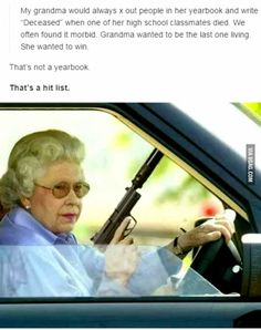 """My grandma x-out people"" - 9GAG"