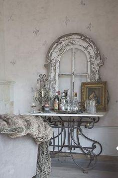 Rustic decorating