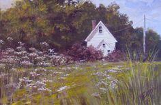 Little House  In The Country............ by nancy quiaoit   www.nancyqart.com on Etsy