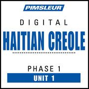 Haitian Creole Phase 1, Unit 01: Learn to Speak and Understand Haitian Creole with Pimsleur Language Programs   http://paperloveanddreams.com/audiobook/384714116/haitian-creole-phase-1-unit-01-learn-to-speak-and-understand-haitian-creole-with-pimsleur-language-programs  