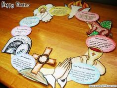 Easter 2014 Wreath Craft Ideas for Kids, Children, Toddlers Etsy DIY Pictures Images